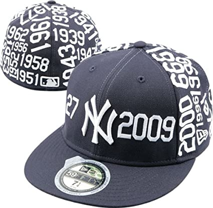 539b7aeda759a Amazon.com   New York Yankees Spike Lee Joint 2.0 - 27 Time Champions  59FIFTY Fitted Hat   Sports Related Merchandise   Sports   Outdoors