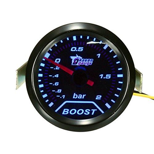 2inch 52mm Universal Car Auto LED Turbo Boost Vacuum Press Gauge Meter Bar Pointer GodsKingdom 7111264086662