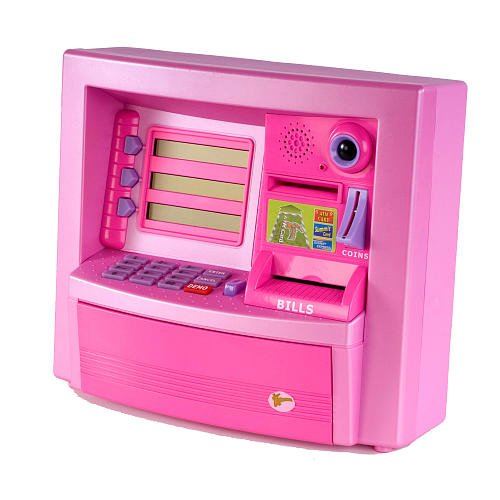 Zillionz/Youniverse Deluxe ATM - Pink - Deluxe Atm Toy Bank