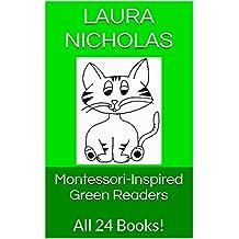 Montessori-Inspired Green Readers: All 24 Books!