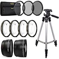 58mm Fisheye Wide Angle and Telephoto Lens Top Accessory KIT For CANON DSLR Camera