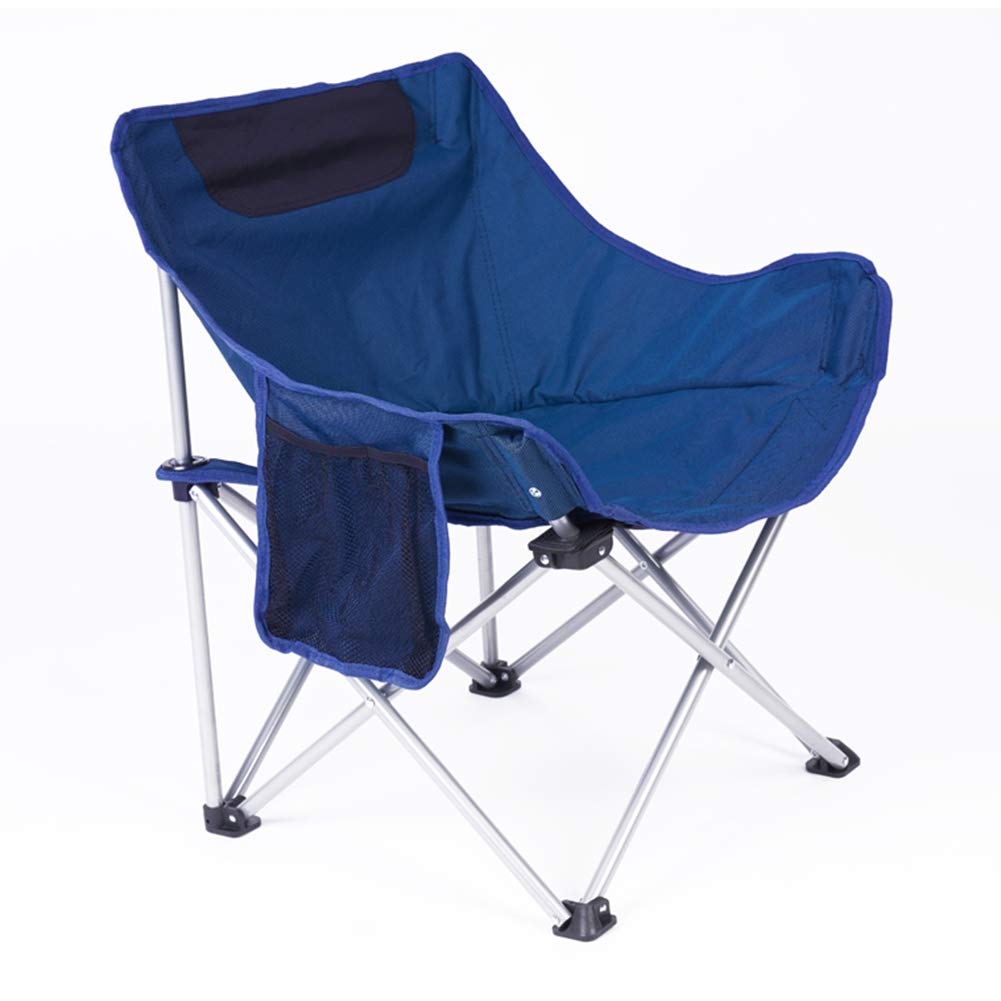 eb3f0a688e Blau LightWeißht Portable Camping Chair Outdoor Folding Backpacking ...