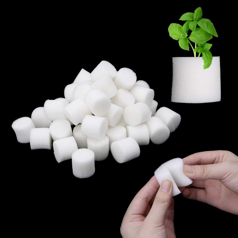 50pcs/Set - Soiless Hydroponic Gardening Plant Tools - Planted Sponge Vegetable Cultivation System 32x30mm 45x30m Optional by Gano Zen