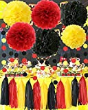Mickey Mouse Party Supplies Minnie Mouse Backdrop