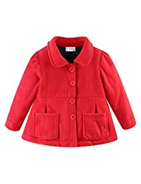 Mud Kingdom Little Girl Fleece Jacket Coat