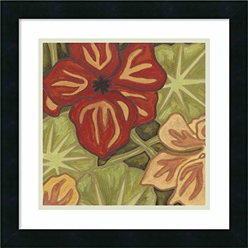 Framed Art Print 'Vibrant Rainforest I' by Karen Deans
