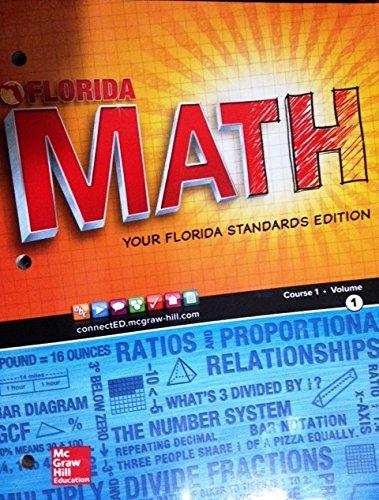 Florida Glencore Math Your Common Core Edition. Course 1 Volume 1.