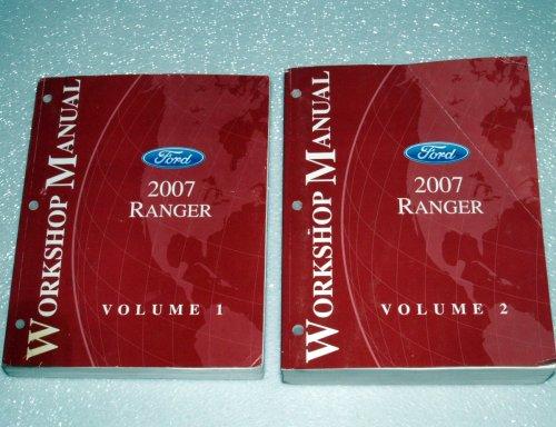 2007 Ford Ranger Workshop Manuals (2 Volume Set) (Truck Manual Factory Ranger Service)