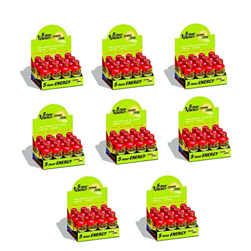 5 Hour Energy Shot Lemon Lime- 96 Pack of 2 Ounce Bottles (5 Hour Energy Lemon)
