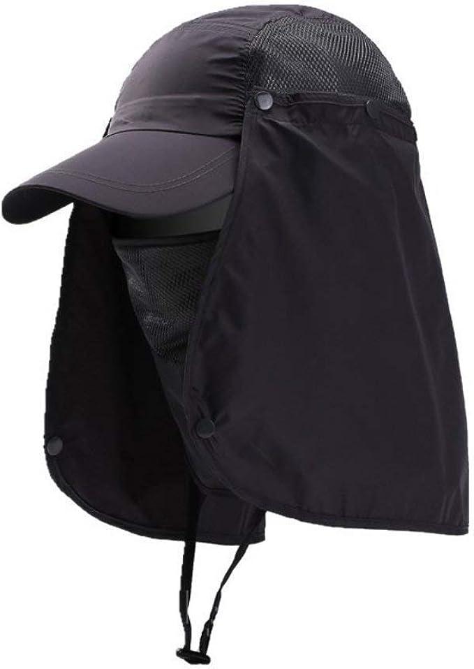 Gorra De Béisbol Protección Para Cuello Protección El Para ...