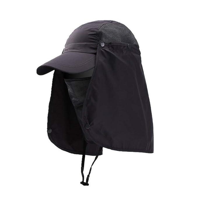 9a2a16df Gorra De Béisbol Protección Para El Cuello Protección Para Cómodo La ...