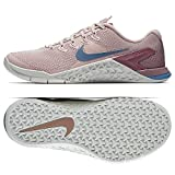 Nike Women's Metcon 4 Particle Beige/Celestial Teal Ankle-High Cross Trainer Shoe - 7.5M