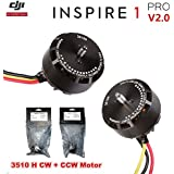 DJI Inspire 1 V2.0/Pro Replacement 3510H Motor 2 PCS(1 CW+ 1 CCW) - OEM