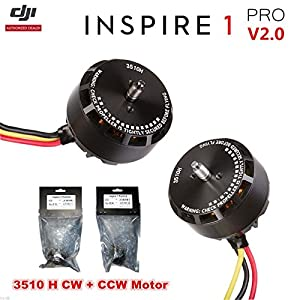 DJI Inspire 1 V2.0/Pro Replacement 3510H Motor 2 PCS(1 CW+ 1 CCW) – OEM 517Ylg qQML