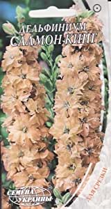 Semillas de flores Delphinium consolida King salmón de Ucrania