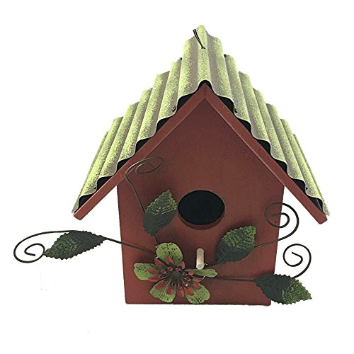 Review Wooden Bird House With