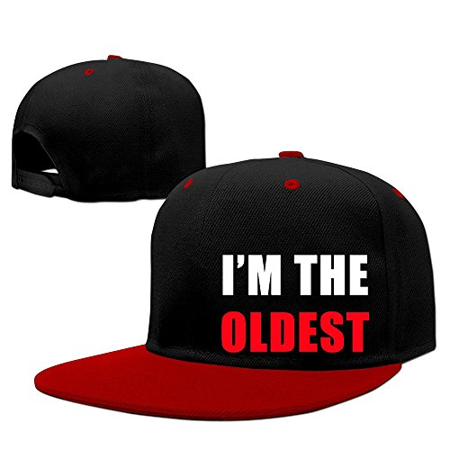 custom-unisex-adult-im-the-oldest-snapback-hit-hip-hop-baseball-cap-visor-cap-red