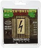 Thomastik-Infeld RP110 Electric Guitar Strings: Power-Brights 6 String Heavy Bottom Set Set E, B, G, D, A, E