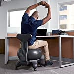 NATARIFITNESS..COM  517Yn2twcjL._SS150_ Gaiam Classic Balance Ball Chair – Exercise Stability Yoga Ball Premium Ergonomic Chair for Home and Office Desk with…