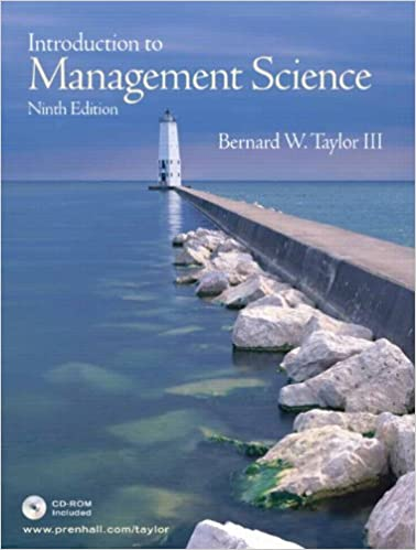 Introduction To Management Science Taylor Pdf