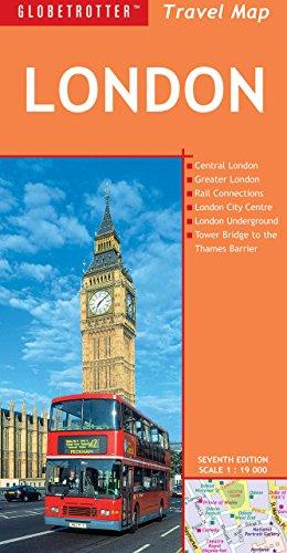Globetrotter Travel Map - London Travel Map (Globetrotter Travel Map)