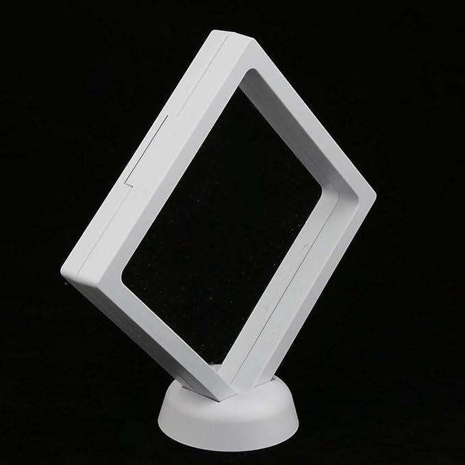 2 Stücke 3D-Floating-Design Schwimmend Schmuckständer Schmuck Anzeigen