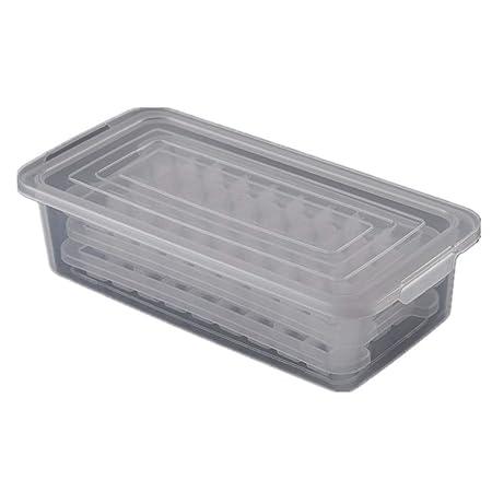 Compra Wagyunfei-Home Bandeja Transparente para Cubitos de Hielo ...