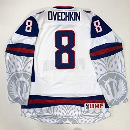 Alexander Ovechkin 2010 Team Russia Nike Jersey Size Large Washington Capitals