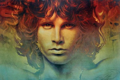 Spirit of Jim Morrison ~ Doors ~ Poster Collections Print