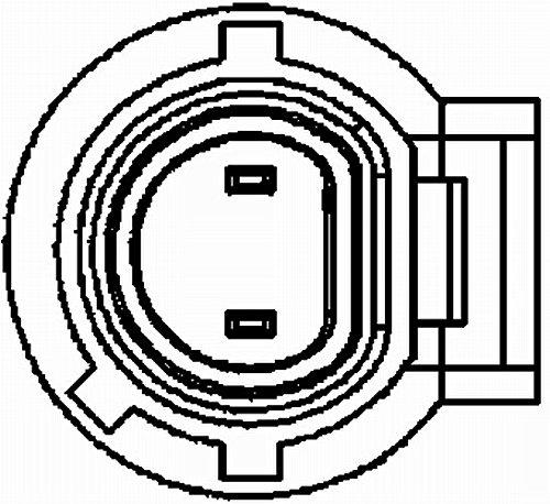 mit fahrzeugspezifischem Adapter Anschlussanzahl 2 Kurbelwelle HELLA 6PU 009 163-881 Impulsgeber