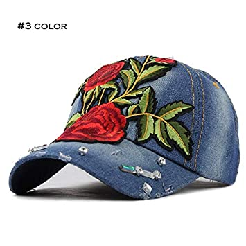ZCFDMM Gorra De Beisbol Moda Gorra De Béisbol Rose Snapback Cap ...