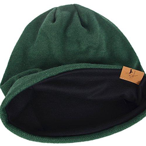 Punto Hombre Verano Algodón Verde hop Gorros Hip Cráneo Sombreros Slouch Invierno de rRftRqn6w