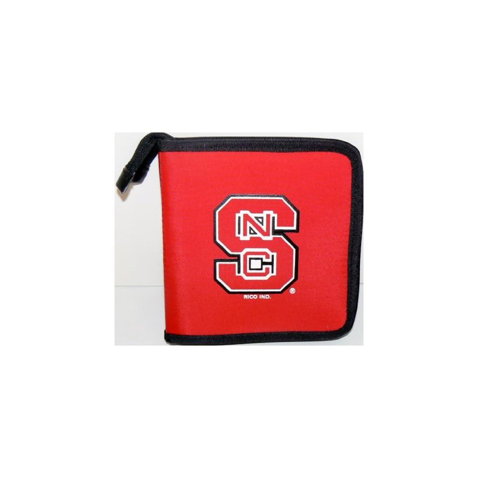 NCAA Licensed North Carolina State Wolfpack CD DVD Blu Ray Wallet