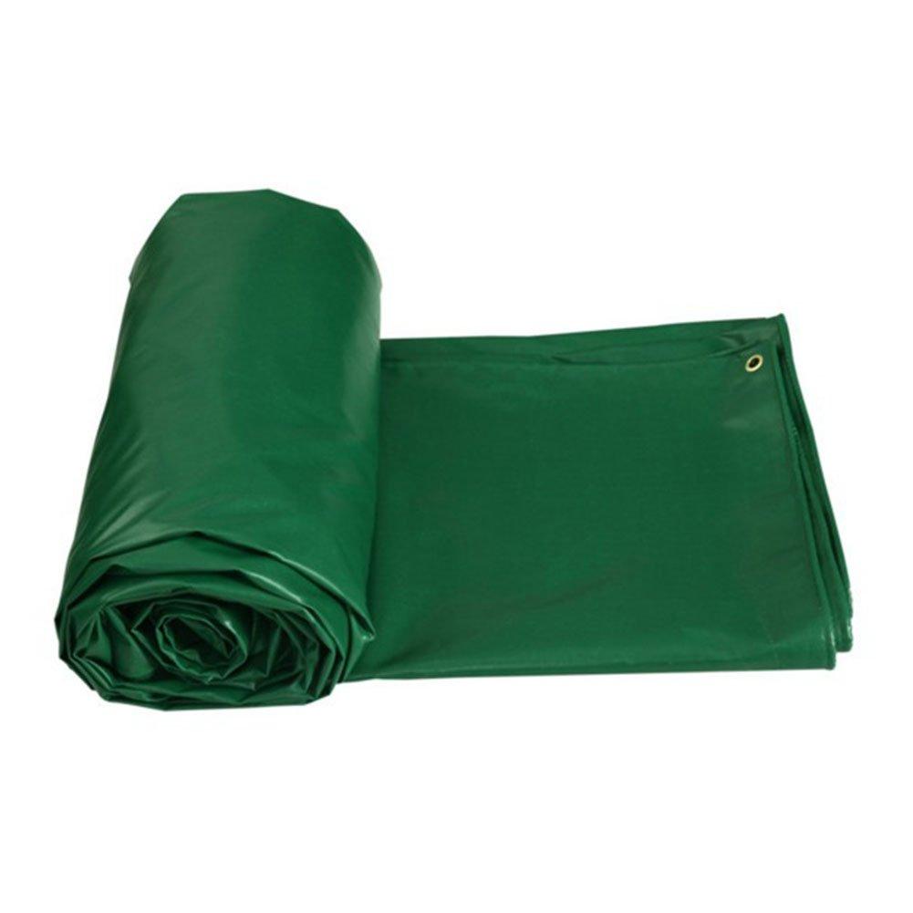 木綿の布 緑 日焼け止め布 防水布 油布 厚い 内外からの日焼け止め防水 キャンバス 屋外トラック 腐食を防ぐ 老化に抵抗する 柔らかい,300 * 400Cm B07FT1ZRF7 300*400cm  300*400cm