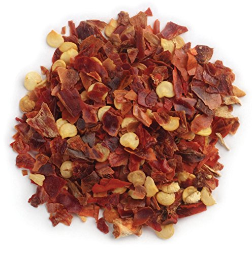 One 16 Ounce Bag Frontier Chili Peppers Crushed, Red Chili Flakes Certified Organic