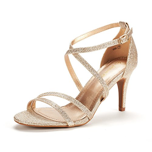 05 Gold Women Sandal - 5
