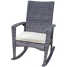 tortuga outdoor garden patio bayview rocking chair driftwood