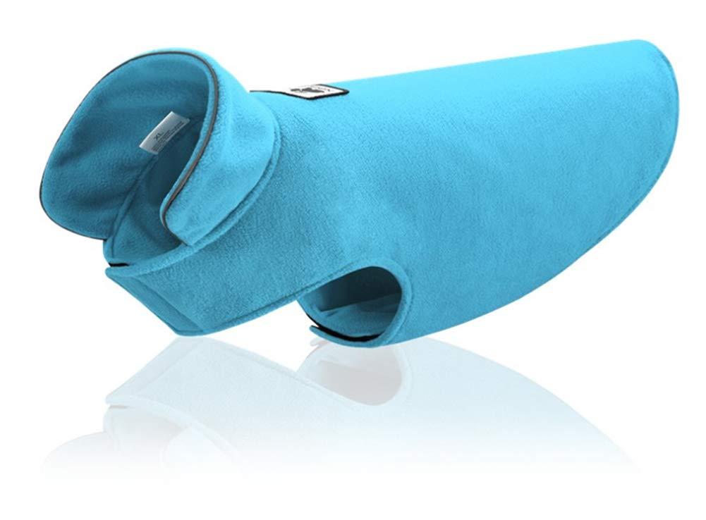 Abrigo para Invierno Chaleco el/ástico para Perro Forro Polar de poli/éster Suave para Mascotas Ropa c/álida para Perros peque/ños Reversible medianos y Grandes Chaleco de Cintura Morezi