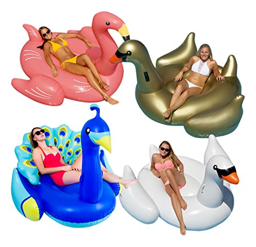 Pools & Spas Jasonwell Giant Inflatable Flamingo Pool Float With Rapid Valves Summer Beach Sw Regular Tea Drinking Improves Your Health Floats & Rafts