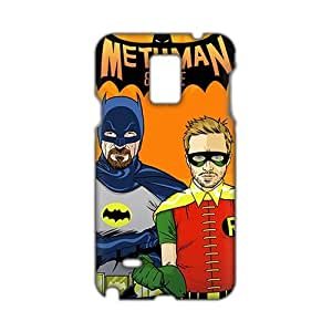 Angl 3D Case Cover Cartoon Anime Batman Phone Case for Samsung Galaxy Note4