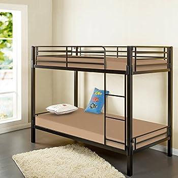 Amazon Com Zinus Memory Foam 5 Inch Bunk Bed Trundle Bed