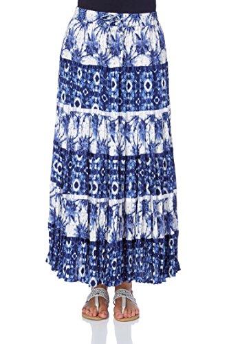 Femme Motif Romans Printemps Bohme Bleu Longue Roman Vacances Bleu Gitane Ete Maxi Originals Ethnique Jupe Confortable Marine Croisire Longues q5Bcwtcv