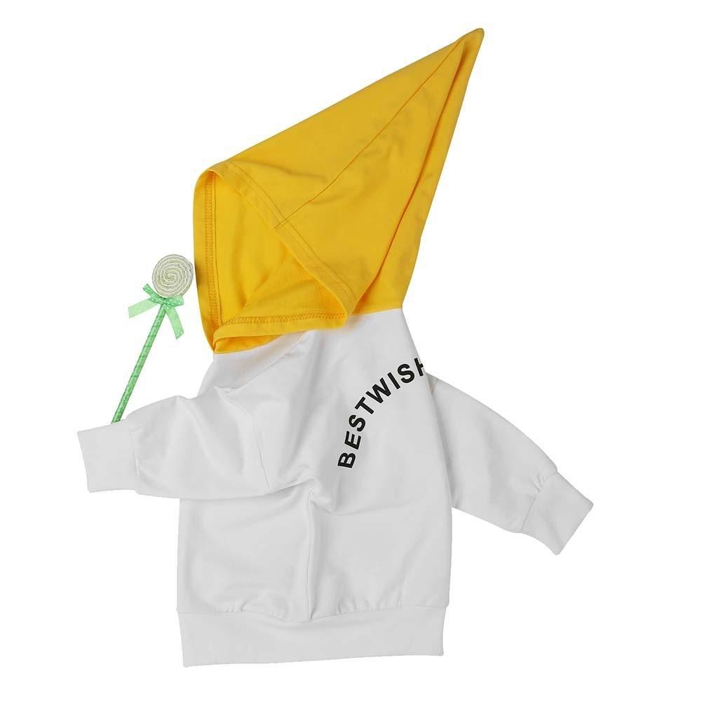chinatera Toddler Kids Boys Girls Winter Spring T-Shirt Pullover Hoodie Tops