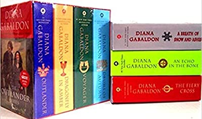 Diana Gabaldon Outlander Series Seven Book Set [Outlander, Voyager, Dragonfly in Amber, Drums of Autumn, Fiery Cross, Breath of Snow and Ashes, Echo in the Bone]
