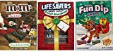 3 Storybook Boxes- M and M's, Lifesavers and Fun Dip - Christmas Stocking Stuffers