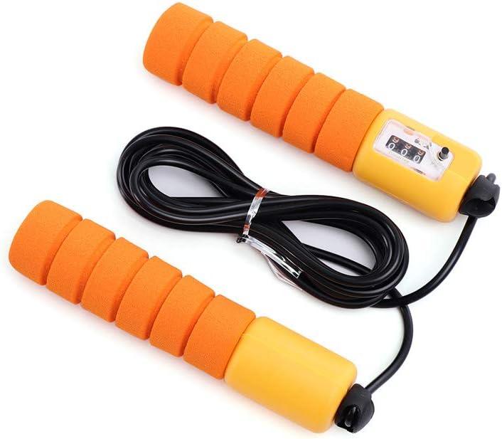Electronic Counting Skip Rope Adult Kids PVC Sponge Anti Slip Handle Jump Ropes