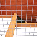 "36"" Waterproof Wood Wooden Rabbit Hutch Chicken"