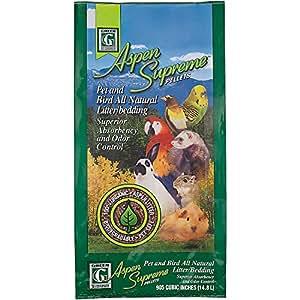 Green Pet Aspen Supreme Pellets Pet and Bird All Natural Litter/Bedding by Kaytee