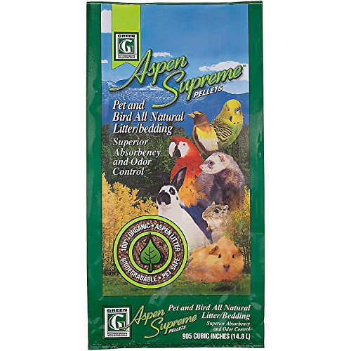 Green Pet Aspen Supreme Pellets Pet and Bird All Natural Litter/Bedding by ()