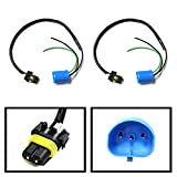 iJDMTOY (2) 9006-To-9007 Conversion Wires Adapters/Power Cords For Headlight Retrofit or HID Conversion Kit Installation